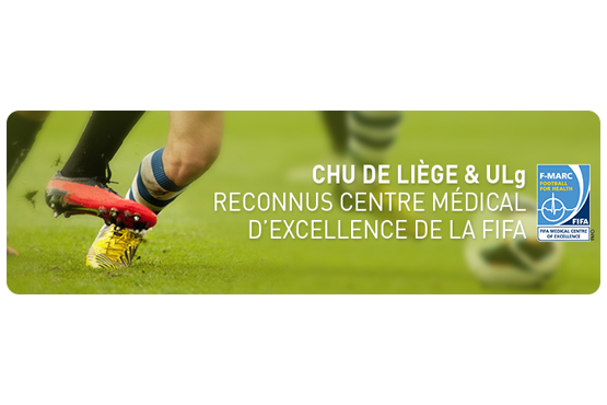 University Hospital of Liège and the Laboratory of Human Motion Analysis accredited as FIFA Medical Centre of Excellence
